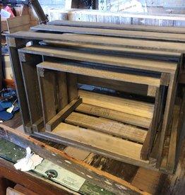 Med Wooden Crate