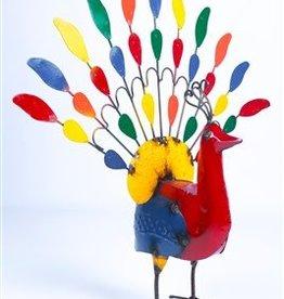 Lg Tin Peacock