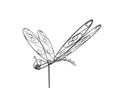 Iron Dragonfly Stake