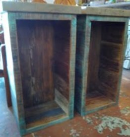 Reclaimed Cypress Side Table