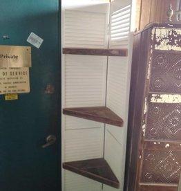 Reclaimed Corner Shelves