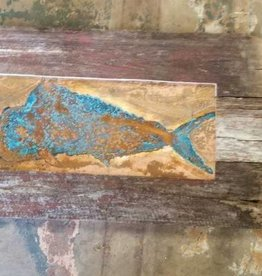 Copper Mahi Wall Hanging