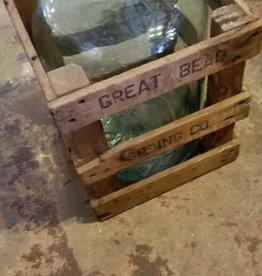 Glass 5Gal. Jug w/ Crate