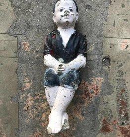 Boy Sitting Statue