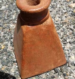 LG Terracotta Tapered Candle Holder