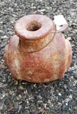 Lg Terracotta Swirl Vase