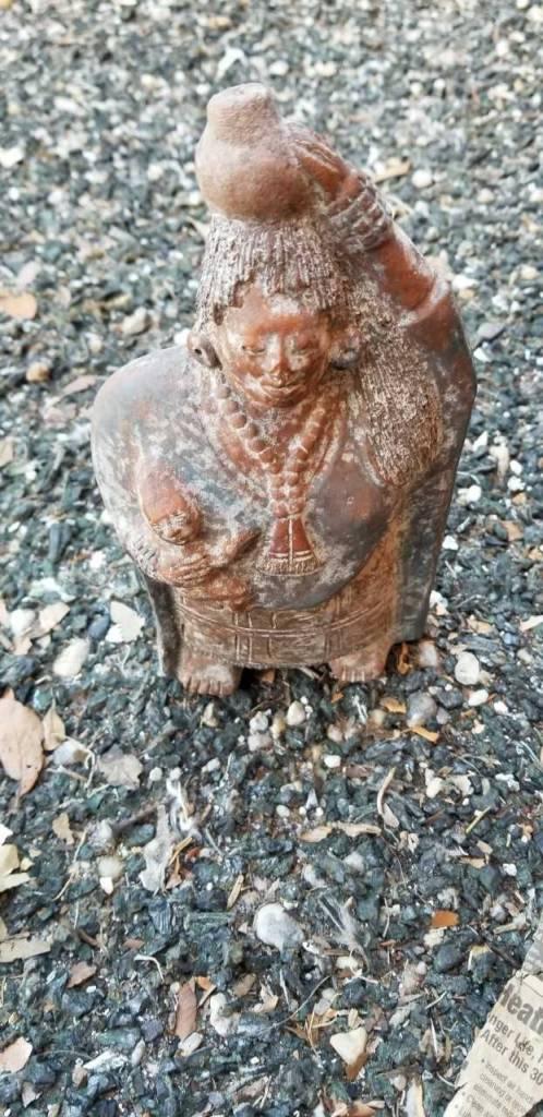 Terracotta Aztek Lady
