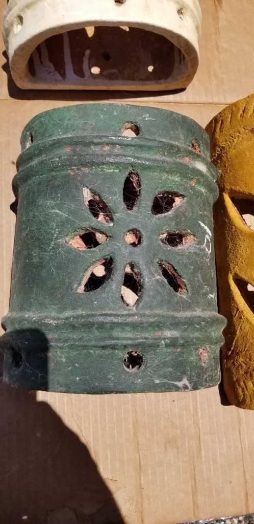 Terracotta Decorative Half Pipe