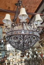 Lg Round Crystal Chandelier From CC