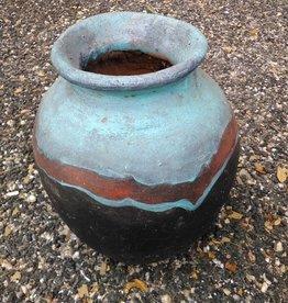 Terracata Blue Vase