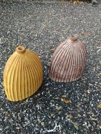 LG Terracata Squash Style Vase
