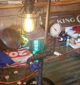 Steam Punk Style Desk Lamp