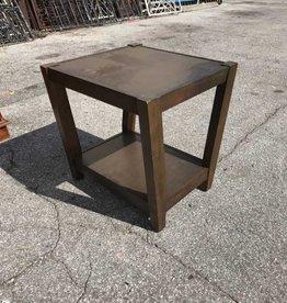Open Shelf Side Table