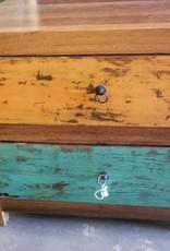 (2) Drawer Teak End Table