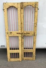 Indian Tiger Doors  Yellow/Pink