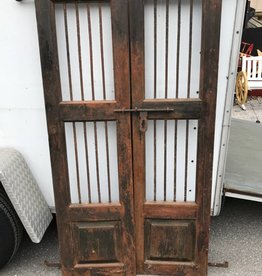 Indian Tiger Doors Brown/Black