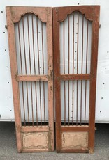 Indian Tiger Doors Pink/Brown