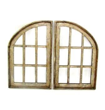 """Rome Wood Window 31.5""""H x 20.5""""L x 2""""W  Each"""