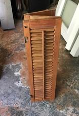 Small Tri-fold Wooden Shutters