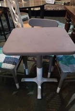 Table Set Hand Stiched Chairs (4)