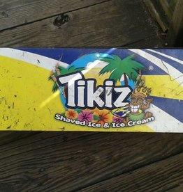Metal Tikiz Sign