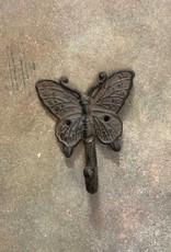 Rust Butterfly Single Hook