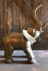 Brass Large Elephant