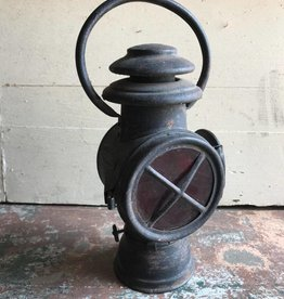1900s French Train Lamp