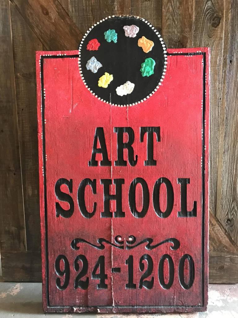 Art School Sign