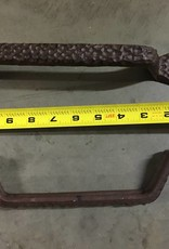Lg Hammered Pointed Iron Pull
