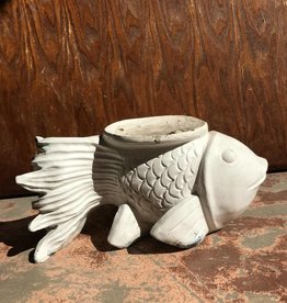 White Fish Candle Holder