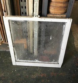 Single Pane Window 28 x 28 inches