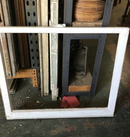Single Pane Window 34 x 28 inches (No Glass)