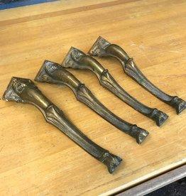 Brass Coffee Table Leg Set