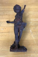 Cast Iron Statue