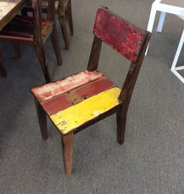 Recycled Boat Dining Chair