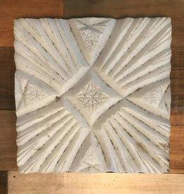 Turkish Marble Tile Cross Star White