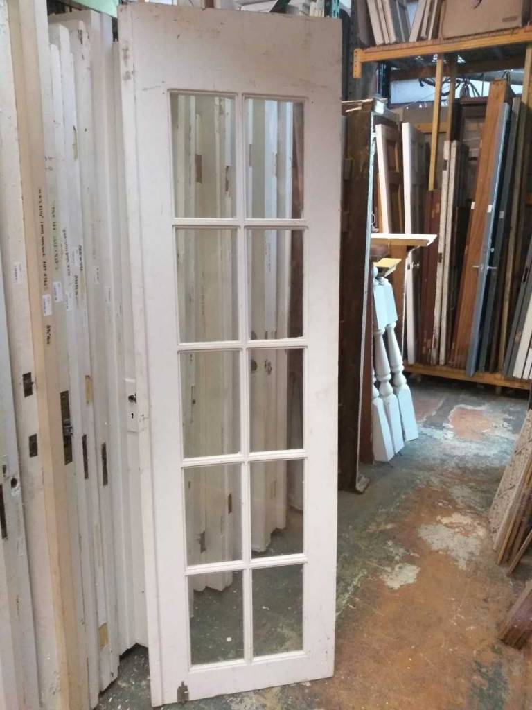 10 Glass Panel Door  24 x 83