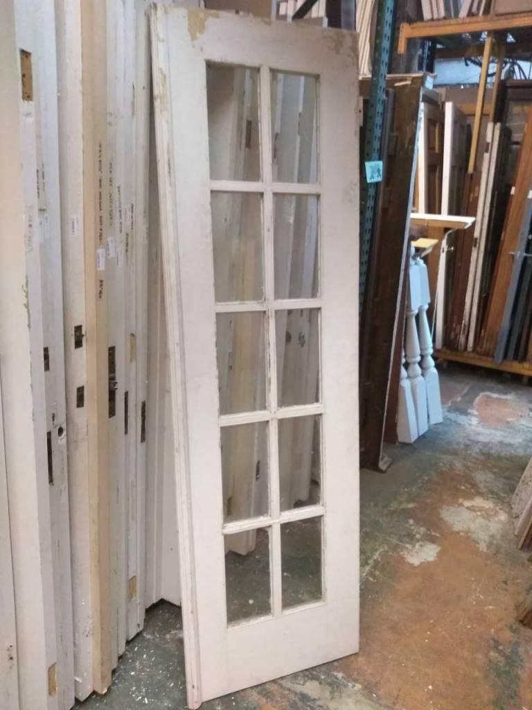 10 Panel Glass Door 23 1/2 x 83 1/2
