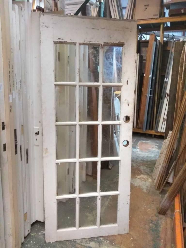 15 Panel Glass Door 32 X 79 Sarasota Architectural Salvage 1093