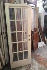 15 Panel Glass Door 29 3/4 x 80