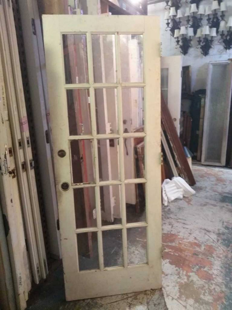 15 Glass Panel Door 30 X 80 Sarasota Architectural Salvage 1093