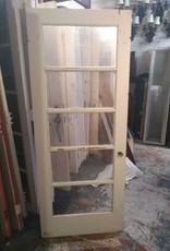5 Panel Glass Door 32 x 79 1/2