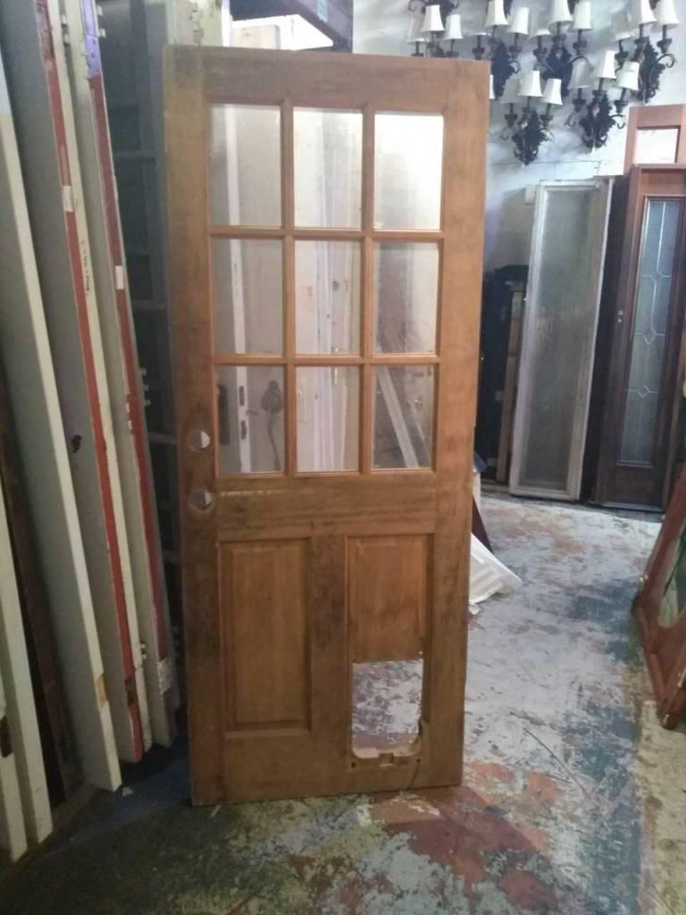 6 Panel Glass Door 78 1/2 x 31 1/2