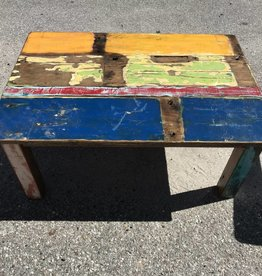 Recycled Boat Coffee Table