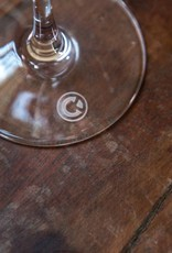 C&K Logo Martini Glass