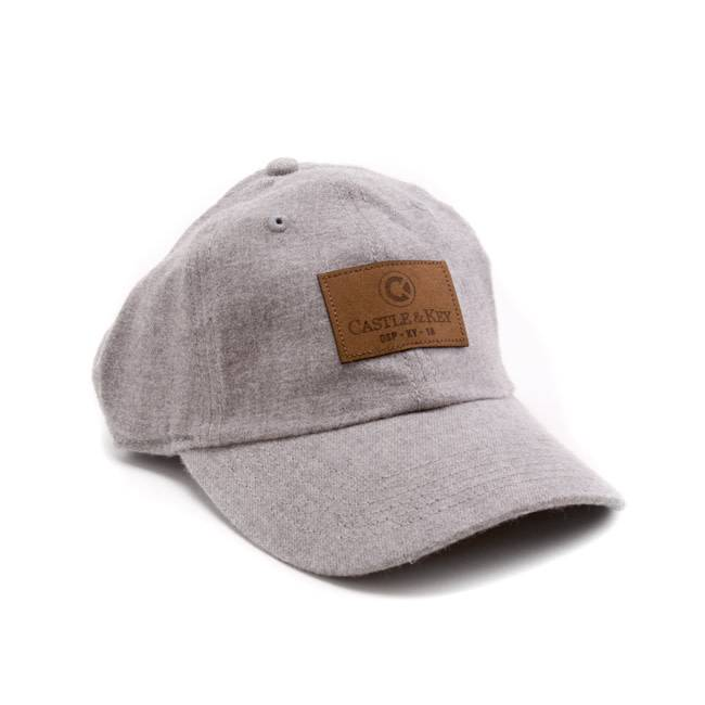 C&K Flannel Leather Patch Hat