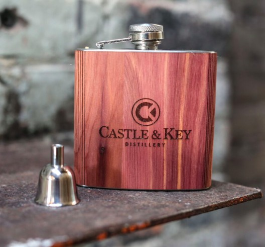 Woodchuck Cedar 6 oz. Flask