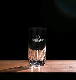 Sculptured Logo Highball Glass