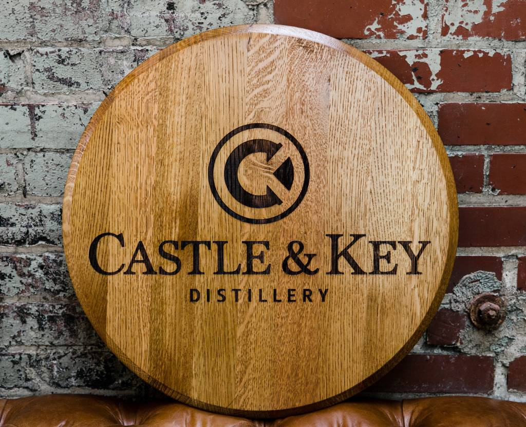Engraved Logo Barrel Head